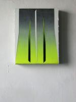 30x24cm acrylic on velvet