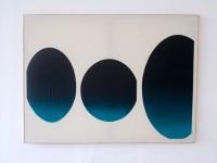 111x150cm acrylic, sand on linen