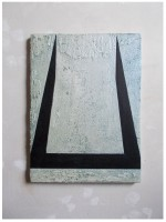 40x30cm acrylic iridescent canvas