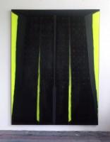 210x160cm acrylic oil velvet